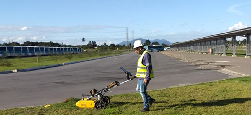 Ternium - GROUND PENETRATING RADAR (GPR) em Área de Plantio